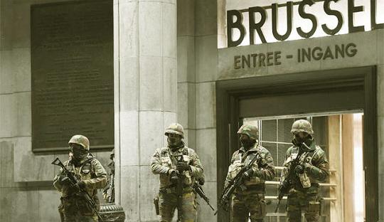 Ledakan Bom di Brussels Ancam Piala Eropa 2016