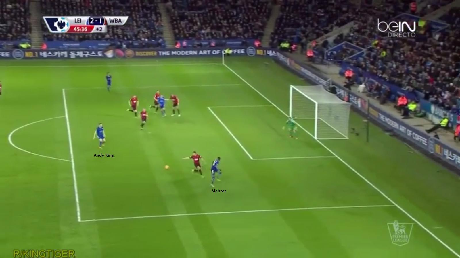 Gol Kedua Leicester