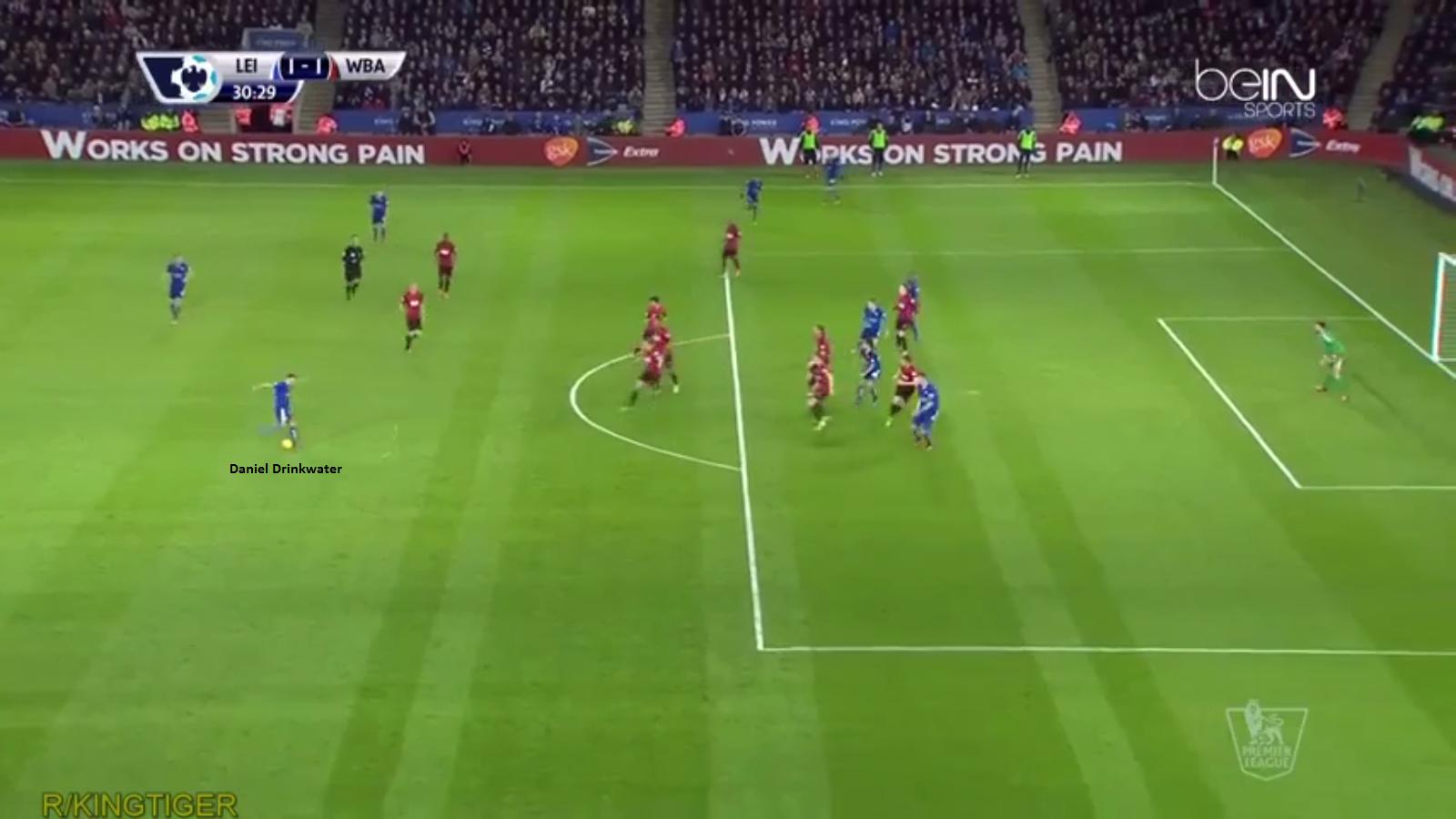 Gol Pertama Leicester