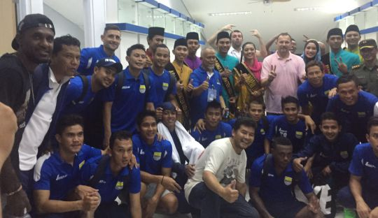 Yanto Basna Perkuat Persib Bandung di Piala Bhayangkara
