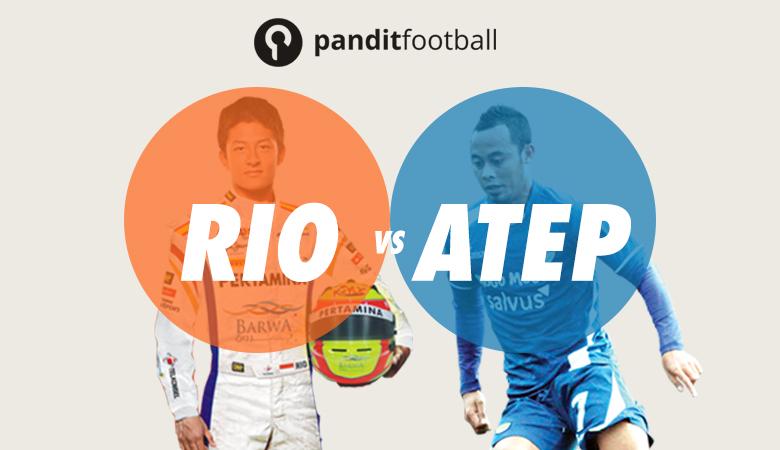Rio Haryanto vs Atep