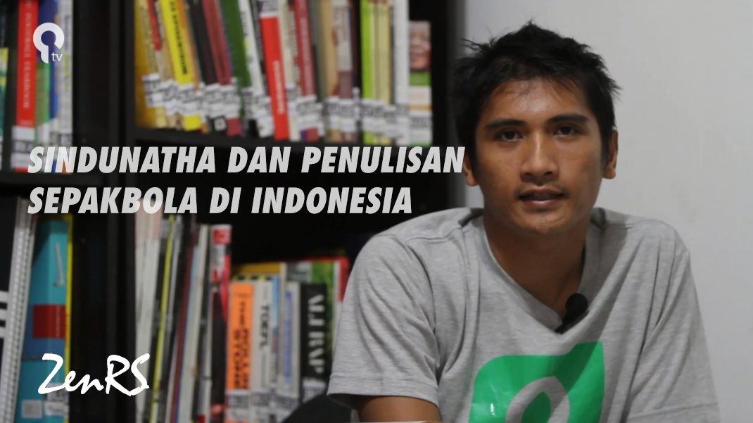 ZenRS Bicara Tentang Sindhunata dan Esai-esai Sepakbola Indonesia