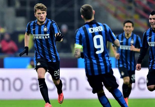 Inter Amankan Posisi Lima Usai Kalahkan Palermo