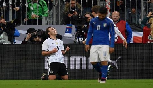 Jerman Pecundangi Italia 4-1, Setelah Tak Pernah Menang atas Italia Sejak 1995