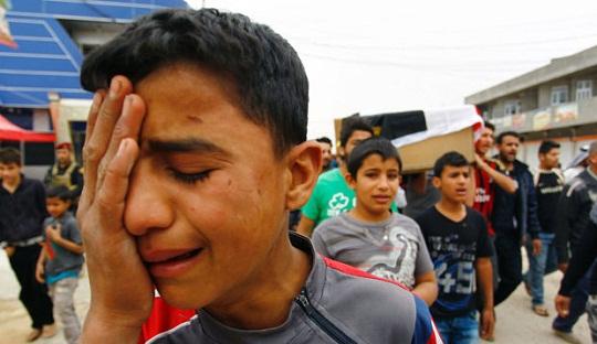 Serangan Bom Rusak Perayaan Kompetisi Sepakbola Lokal di Irak