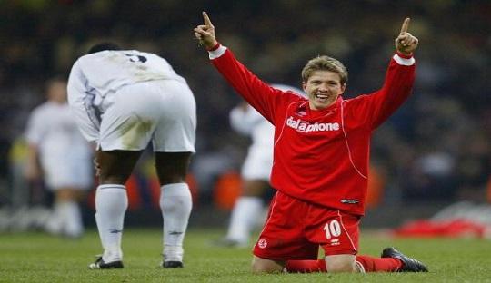 Juninho Paulista, menjadi ikon Middlesbrough di akhir 90-an