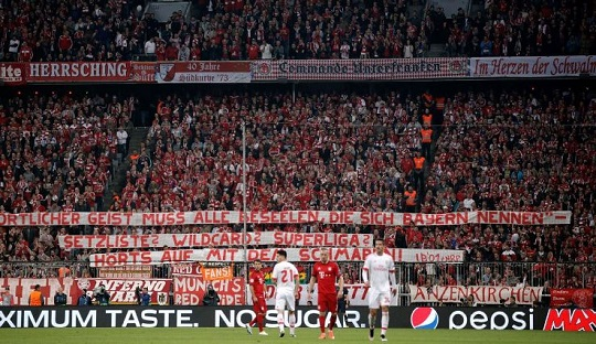 Soal European Super League, Bayern München dan Südkurve Beda Suara